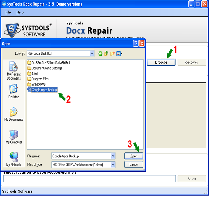 Free Download Docx Recovery Tool